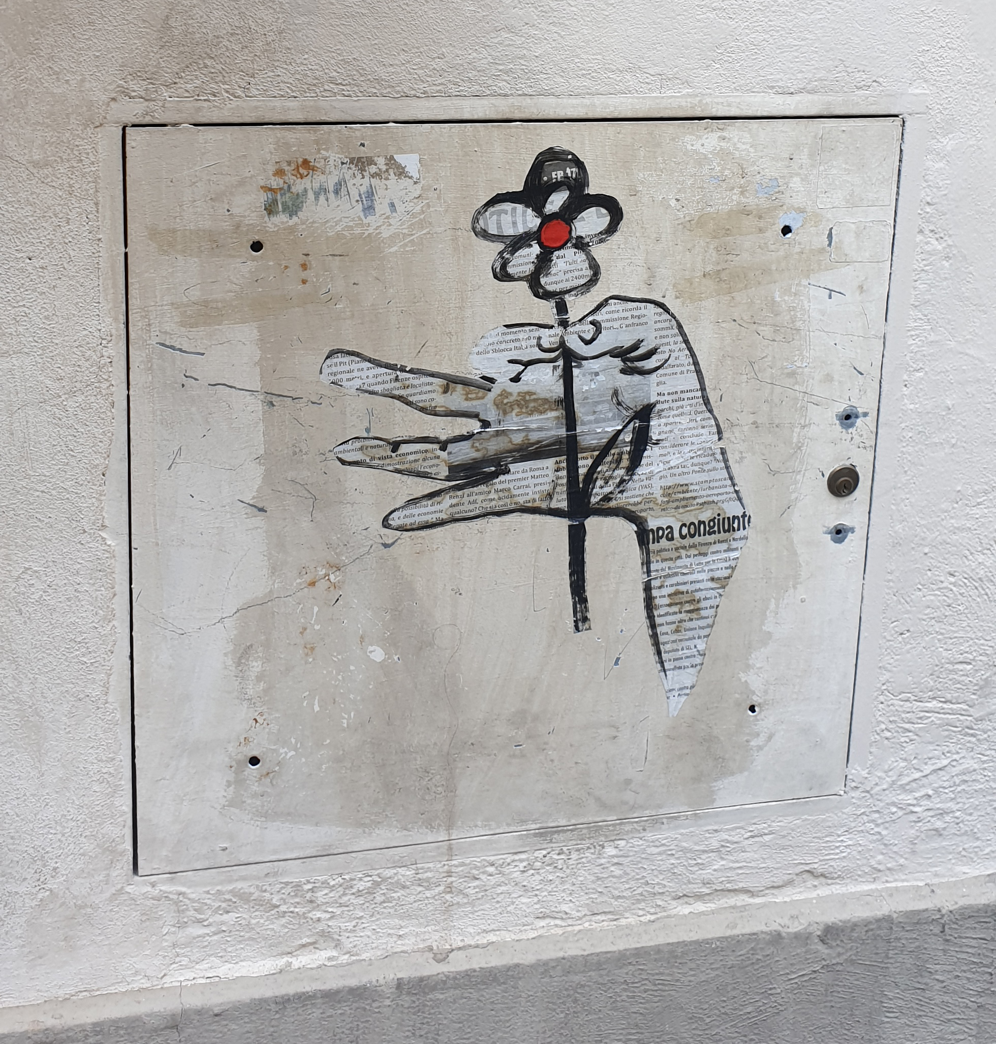 Italian Street Art … not to be confused with graffiti